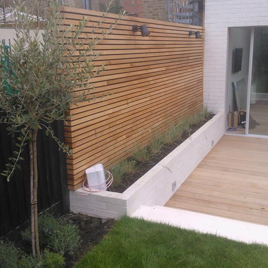 Beste Schuttingen van hardhout en staal, mooi voor elke tuin JM-26