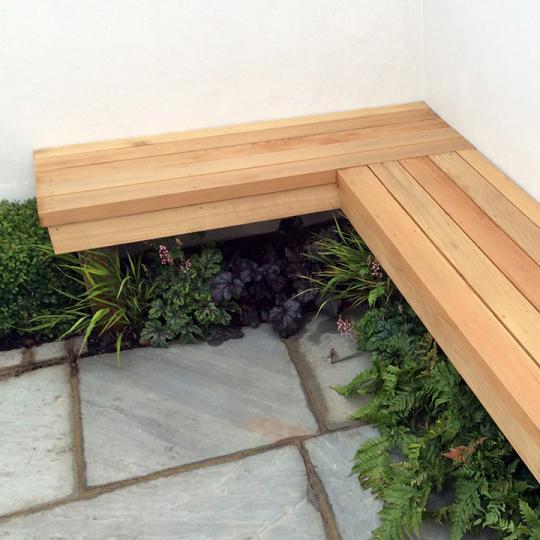 Tuinbanken van hardhout mooi voor in elke tuin - Modern tuinbekken ...